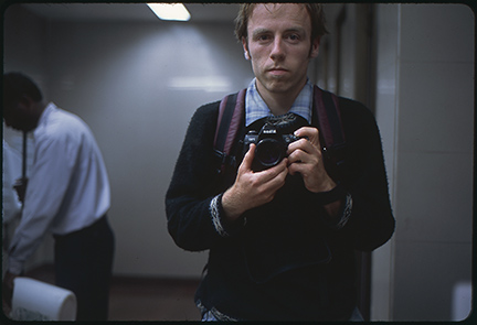 David Parsons: Self Portrait, Indira Gandhi International Airport, 2003